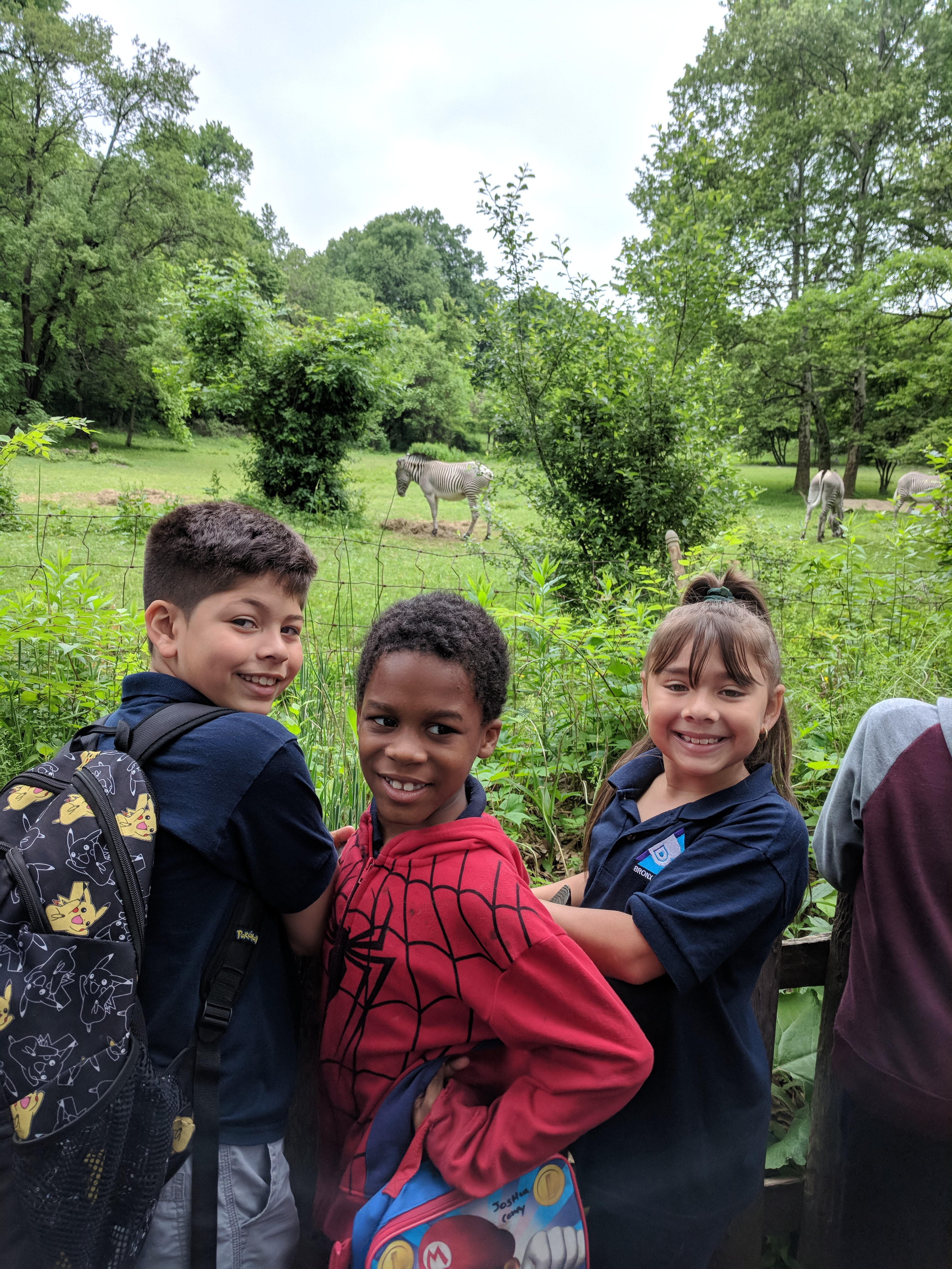 Third Graders At The Bronx Zoo Bronx Delta School