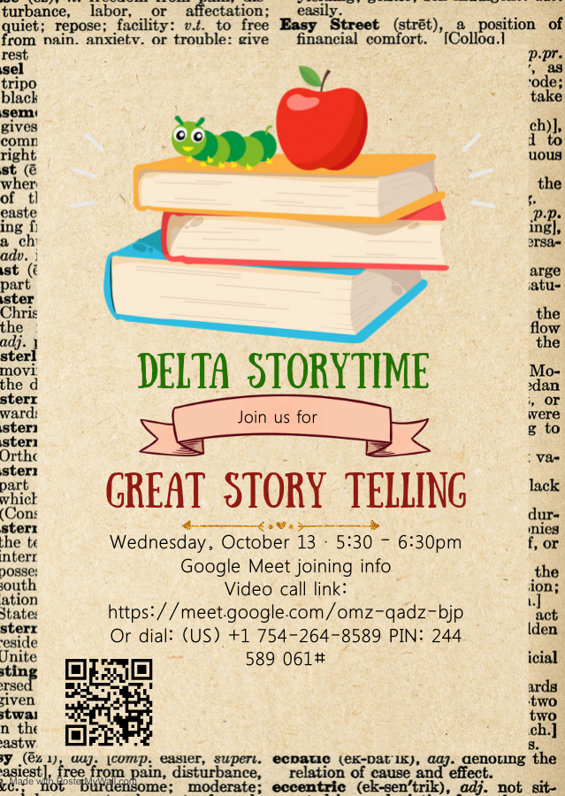 delta story time flyer